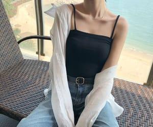 asian fashion, casual, and korean fashion image