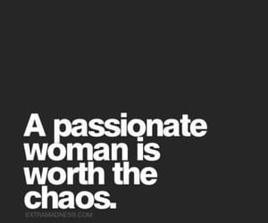 quotes, woman, and chaos image