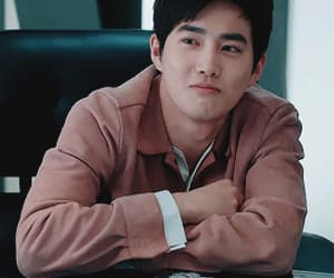 exo, gif, and Korean Drama image