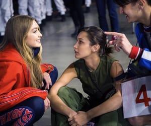 fashion show, tommy hilfiger, and bella hadid image