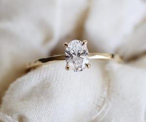 ring, chic, and diamond image