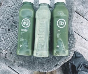 juice, green, and food image