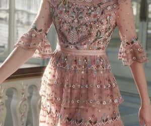 dresses, pink, and style image