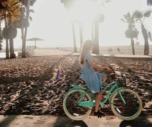 beautiful, bicycle, and chill image