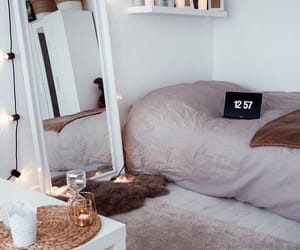 bedroom, decoration, and decor image