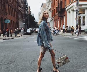 elsa hosk, model, and Victoria's Secret image