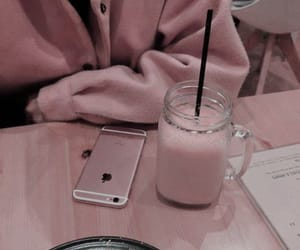 pink, iphone, and aesthetic image