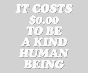 human, kind, and kindness image
