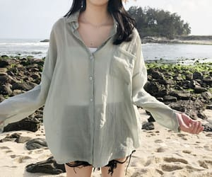 beach, clothes, and clothing image