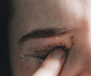 glitter, indie, and eyes image