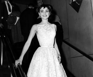 audrey hepburn, vintage, and dress image