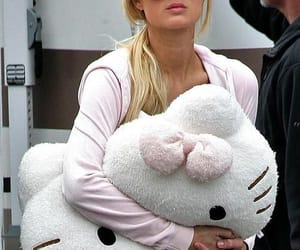 hello kitty and paris hilton image
