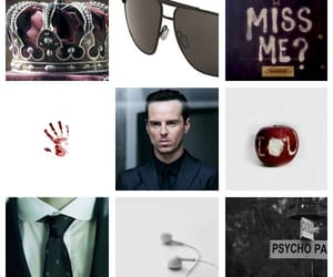aesthetic, sunglasses, and moriarty image