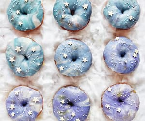 donuts, food, and stars image