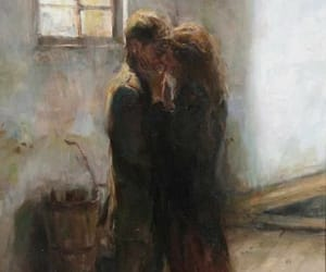 art, vintage, and couple image