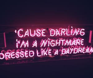 quotes, pink, and neon image