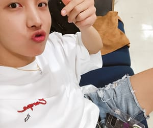 pout, cute, and hoseok image