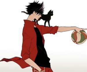 haikyuu, kuroo, and anime image