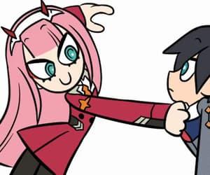 anime girl, gif, and hiro image