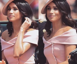 meghan markle, beauty, and pink image