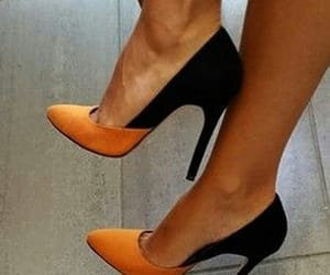 black, chic, and ‎zapatos‬ ‪ image