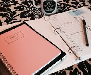 study, inspiration, and notebook image