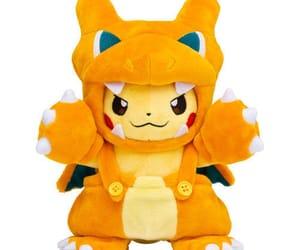 pikachu, pokemon, and charizard image