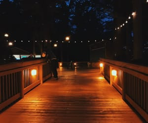 cozy, lights, and night image