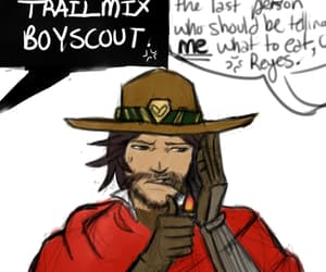 reaper, overwatch, and mccree image