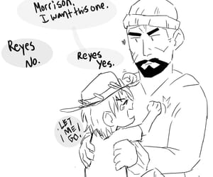 doodle, gabriel reyes, and overwatch image