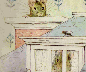 beatrix potter, illustration, and mice image
