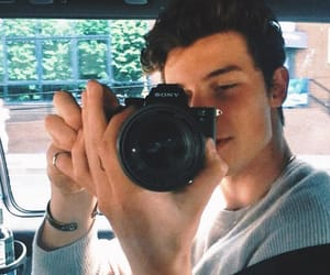 shawn mendes, shawn, and camera image