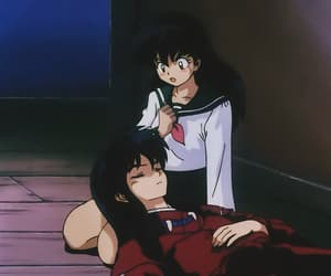 inuyasha, kagome, and love image
