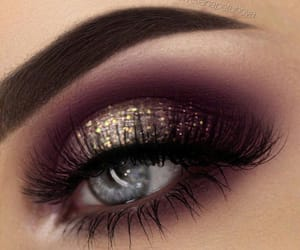eyes, glitter, and make up image