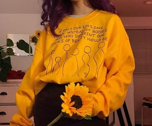 yellow, fashion, and aesthetic image