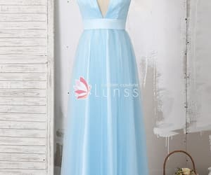 77229232aae4 Wanweier - sky blue bridesmaid dresses, Cheap Two Tone Ruffled Tulle ...