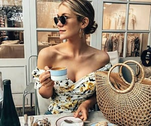 coffee, style, and breakfast image