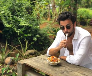 actor, eating, and instagram image