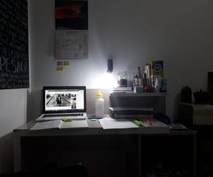 home office, university, and desk tour image