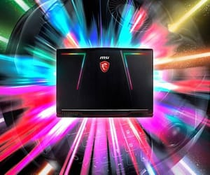 laptop, review, and msi ge63 image