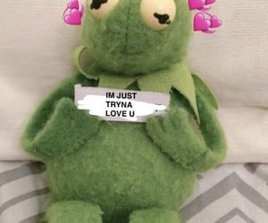 kermit, love, and heart image