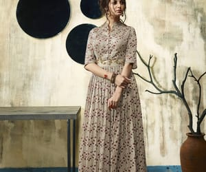 dress, gowns, and salwar image