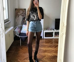 girl, style, and 90s image