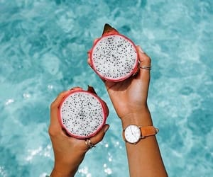 fruit, summer, and water image