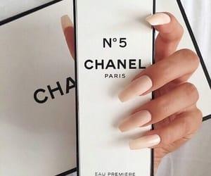chanel, nails, and perfume image