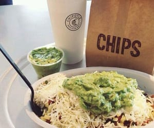 chipotle, food, and chips image