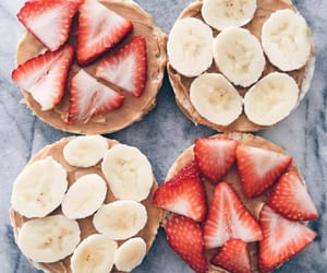 banana and peanut butter image