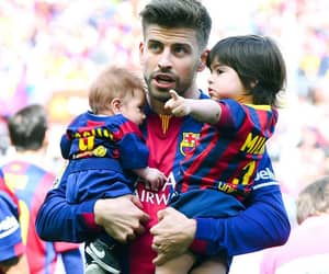 daddy, pique, and fcbarcelona image