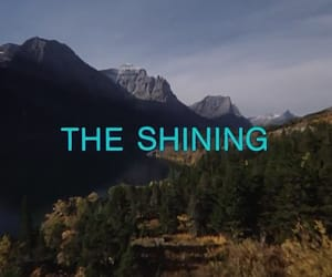 The Shining, movie, and horror image