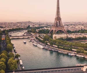 aesthetic, city, and eiffel tower image